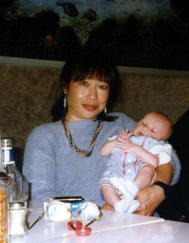 image 099b-1996-holding-baby-mikey-at-la-porchetta-niddrie-shaz-21st-jpg
