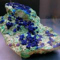 image deep-blue-azurite-with-green-malachite-usa-jpg